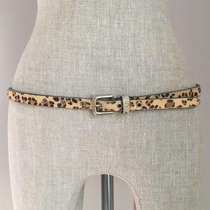 EXPRESS ▪️ Animal Print Skinny Belt